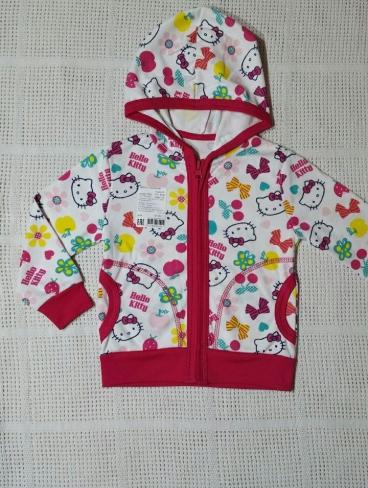 """Джемпер с капюшоном """"Hello Kitty"""" (на замке)"""