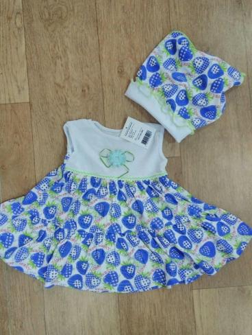 Платье детское летнее купить 74, 80 и 86 размер