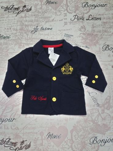 Пиджак для мальчика, т.-синий