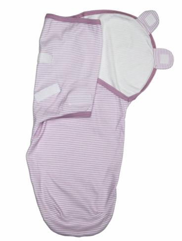 Пеленка-кокон на липучке, розовый