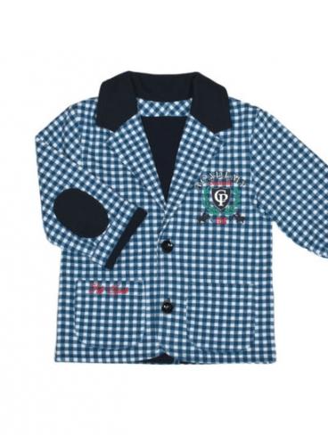 Пиджак для мальчика, клетка