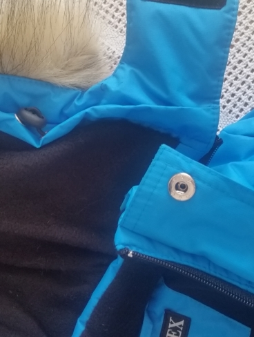 Комбинезон зимний (Мембрана+флис), синий