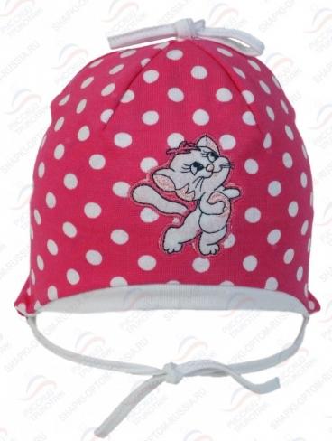 шапочка весенняя для девочки