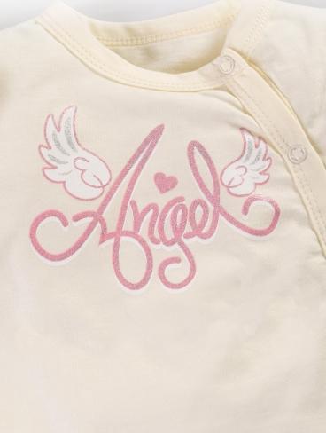 """Боди """"Angel"""" (сзади рюши) Кор/рук."""