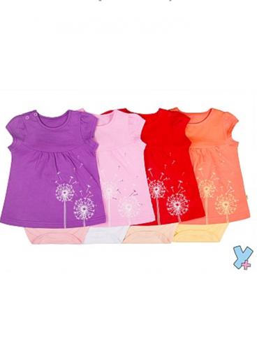 боди-платье для девочки