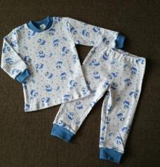 Пижама для мальчиков до года