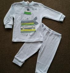 Пижама для мальчика до года
