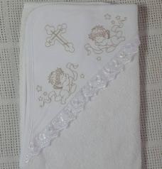 Полотенце для крещения, белое