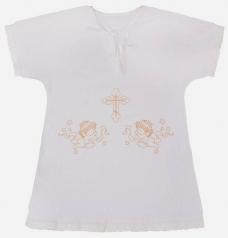 "Крестильная рубашка ""Ангелочки"", Умка+"