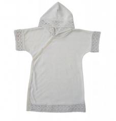 Рубашечка для крещения, белый