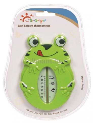 SUN DELIGHT термометр лягушка