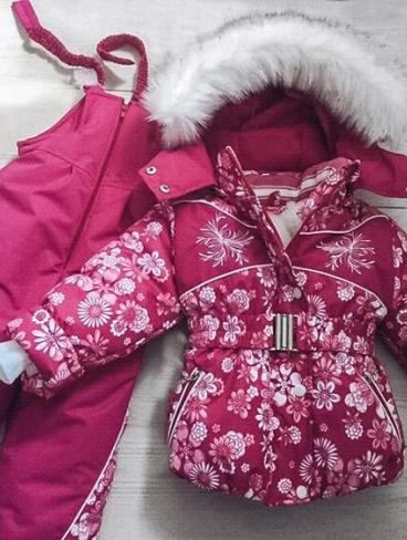 Зимние комплекты для девочки