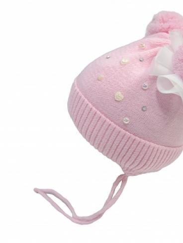 р.44 Зимние шапки с завязками (синтепон), Арнелла