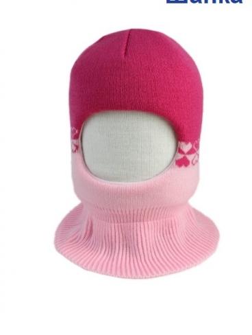 р.48-50 Шлем зимний утеплен. (изософт), роз.