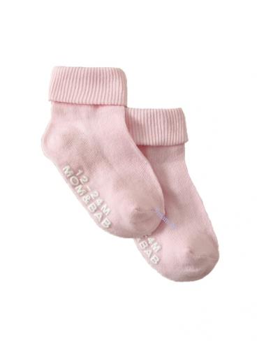 Носочки/гольфы светло-розовые