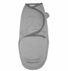 Пеленка-кокон (на липучке), серый