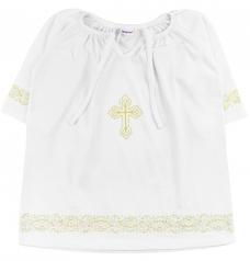 Крестильная рубашка, размер 86-98