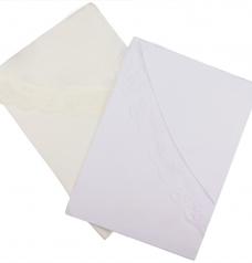 Крестильная пеленка-уголок, 90*90 см