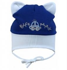 "р.40-42 Шапка ""Police patrol"", синяя"