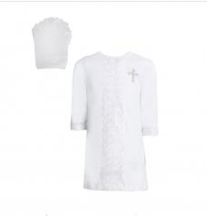 Набор крестильный (рубашка, косынка)