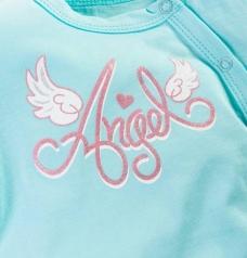 "Боди ""Angel"" (cзади рюши), длин/рукав"